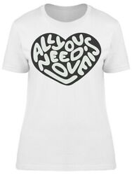 All You Nee Dis Love Heart Tee Womenand039s -image By Shutterstock