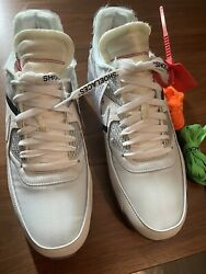 Nike Off White Air Max 90 The 10 Size 11.5