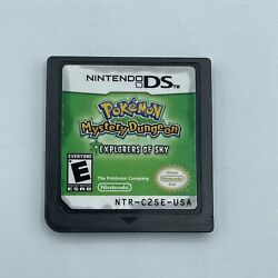 Pokemon Mystery Dungeon Explorers Of Sky Ds 2009 Authentic Tested