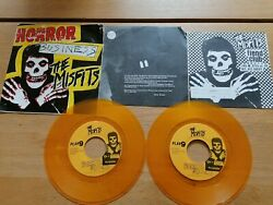 Misfits Horror Business First Press Yellow Vinyl Record