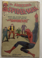 Amazing Spider-man - Issue 10 The Enforcers - Good 1963