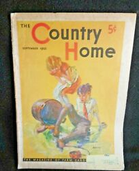 The Country Home Magazine September 1932 Great Advertising Ads