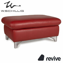 Willi Schillig Enjoy Leather Stool Red Function