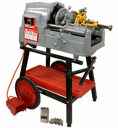 Reconditioned Ridgidandreg 535 V3 Pipe Threader And Steel Dragon Toolsandreg Cart 811a And Oil