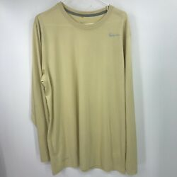 Nike Shirt Mens Xl Extra Large Yellow Tee Swoosh Adult Dri Fit Active Workout