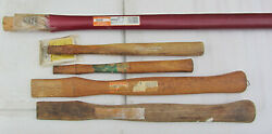 New Old Stock Wood Axe Hatchet Hammer Handles Stanley Flame Link Forest