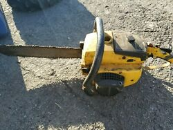 Mcculloch Chainsaw Pro 10-10 For Parts Or Repair