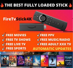 🔥fully Loaded🔥new 4k Fire Stick Tv - Movies📺 Best Apps 2021