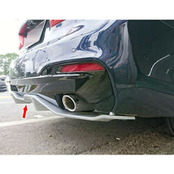 Painted Fit For Bmw 5-series G30 M-tech Model Rear Bumper Diffuser Spoiler 2020