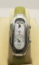 Philip Stein Teslar Dual Face Watch Mother Of Pearl Face