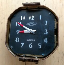 1932 1933 1934 1935 Chevrolet Chevy Mirror Clock Immaculate Rare