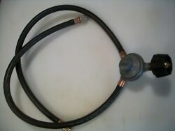 Lp Gas Double Hose And Regulator For Grills Or Rv Gas Supply