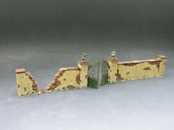 King And Country - Sp023 - French Walls And Gate - Neuf En Boite Dand039origine