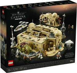 Lego Star Wars A New Hope Mos Eisley Cantina 75290 - 3187 Pieces