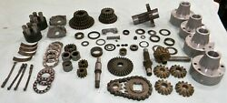 21+ Lbs. Of Miscellaneous Peerless Tecumseh Transmission Parts. Nos