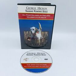 George Hickox Training Pointing Hunting Dogs Dvd Four Volumes On 1 Disc 1234