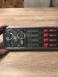 Snap On Feeler Gauge Blade And Handle Set Red 86 Piece Set Metric And Imperial New