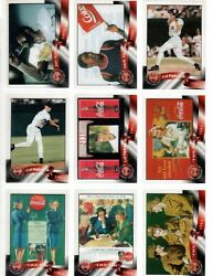 Coca-cola Sprint And03996 Clear Cels Complete Acetate Card Set 50 From Phone Cards