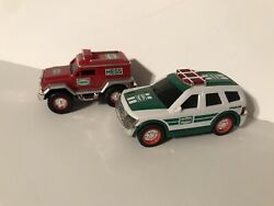 2005 And 2012 Hess Toy Trucks Minis Used