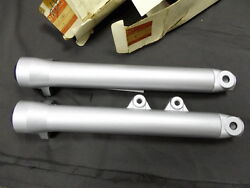 Suzuki Rg125 Fork Outer Tube L And R Nos Gamma 125 Front Tube Cover -36a00 Rg80