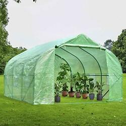 Green House12and039x10and039x7and039heavy Duty Walk In Outdoor Gardening Greenhouse Tent