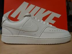 Msrp 65 Size 6 - Nike Court Vision Low Triple White 2019 - Cd5434-100