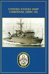 Uss Cardinal Mhc-60 Christening And Launching Program And Welcome Aboard