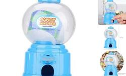 5.5inch Gumball Machines, Plastic Bubble Gum Dispenser Candy Machine For 4