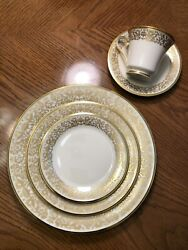 51 Piece Lenox Tuscany China Set -only Previously Used As A Display