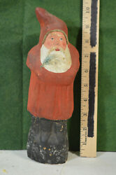 1920and039s German Belsnickle 10 1/4 Paper Mache Excellent Condition