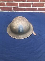 Wwi Us Aef 77th Infantry Division Statue Of Liberty Helmet
