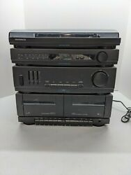 Magnavox As305m Home Stereo System Record Player Cassette Only