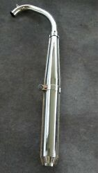 1975 Harley Aermacchi Sprint Ss250 Exhaust System Pipe Muffler And039only 875 Milesand039
