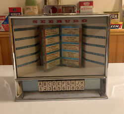 Seeburg Jukebox 1970and039s Table Top Wall Coin Slot Display Unit Vending