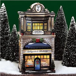 Department 56 Christmas In The City Lafayetteand039s Bakery 56.58953 Trees Not Incld