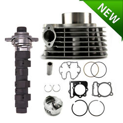 Stage 2 Camshaft Hot Cam And Cylinder Piston Kit For Honda Sportrax Trx400ex 99-14