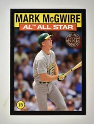 2021 Topps Series 2 1986 All-star Black As-32 Mark Mcgwire 1/299 - Athletics