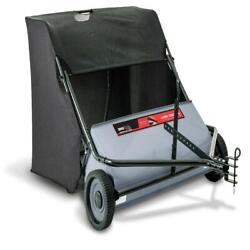 Ohio Steel 42 Lawn Sweeper Tractor Tow Behind Hopper Grass Catcher Leaf Bag New