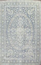Antique Muted Floral Traditional Area Rug Evenly Low Pile Handmade Wool 10x14 Ft