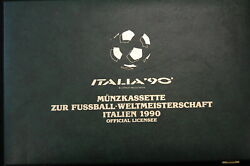 Italy Coin Box To Football World Championship 1990, 45 Silver 49019
