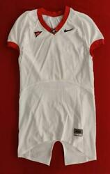 Georgia Bulldogs Nike Blank Line-cut Game Issue White Football Jersey Size 46