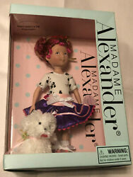 Madame Alexander Fancy Nancy And The Posh Puppy 9in Collectors Doll New In Box