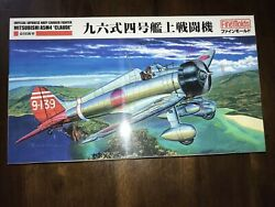 Fb21-fine Molds Fb21 Ijn Carrier Fighter Mitsubishi A5m4 Claude 1/48 Scale Kit