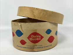 Vintage 1959 Dairy Queen One-half Gallon Container, Rare, St. Louis Mo Advertise