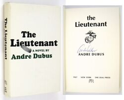 Andre Dubus / The Lieutenant Signed 1st Edition 1967