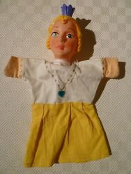 Vintage Rare Hand Puppet - Punch And Judy - Queen