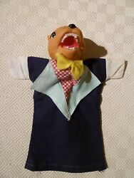 Vintage Rare Hand Puppet - Punch And Judy - Rat
