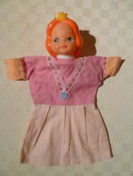 Vintage Rare Hand Puppet - Punch And Judy - Princess