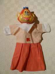 Vintage Rare Hand Puppet - Punch And Judy - Monkey