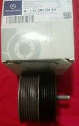 Mercedes Benz Genuine Drive Belt Idler Pulley Cl55 Cls55 E55 G55 S55 Sl55 Amg Oe